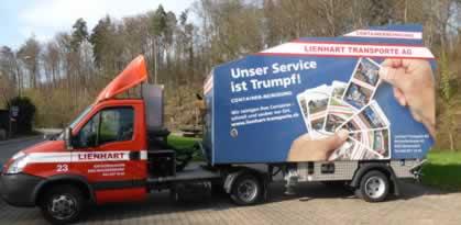 Fz.Nr. A8 Container Reinigungsauflieger Feistmantel