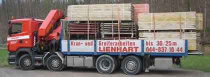 Fz.Nr. 11 Ladekran mit Brücke Scania