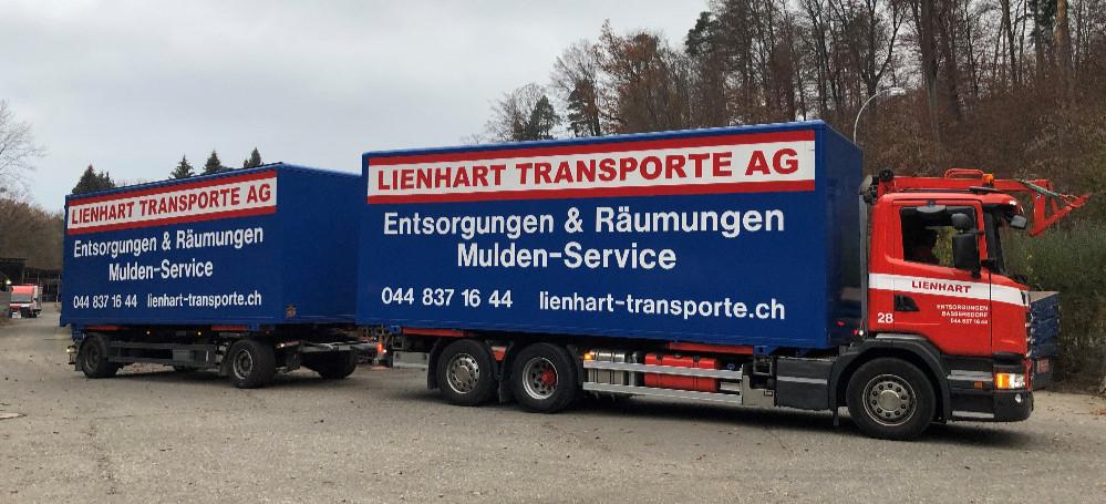 Fz.Nr. 28 Containertransport Scania